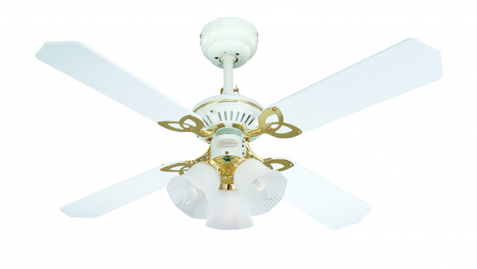 White Flower Ceiling Fan Westinghouse Ceiling Fan Princess Trio White Ceiling Fans
