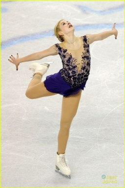 ashley wagner gracie gold first second ladies nationals 08
