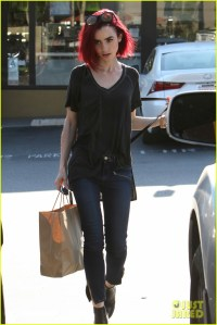 Pics For > Lily Collins Red Hair Color