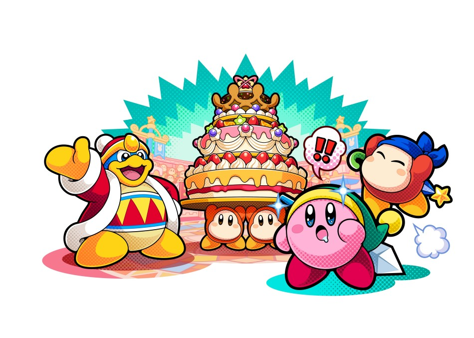 Wallpaper 3d Espada Kirby Battle Royale Nintendo 3ds Jeux Nintendo