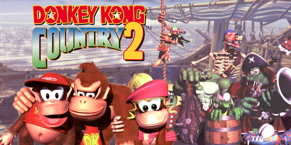 Donkey Kong Country 2 Diddy39s Kong Quest Super Nintendo