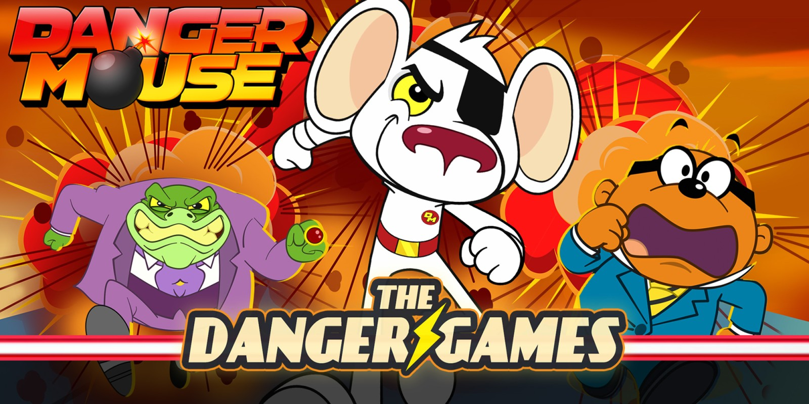 Nintendo Switch Wohnzimmer Danger Mouse The Danger Games Nintendo Switch Download Software