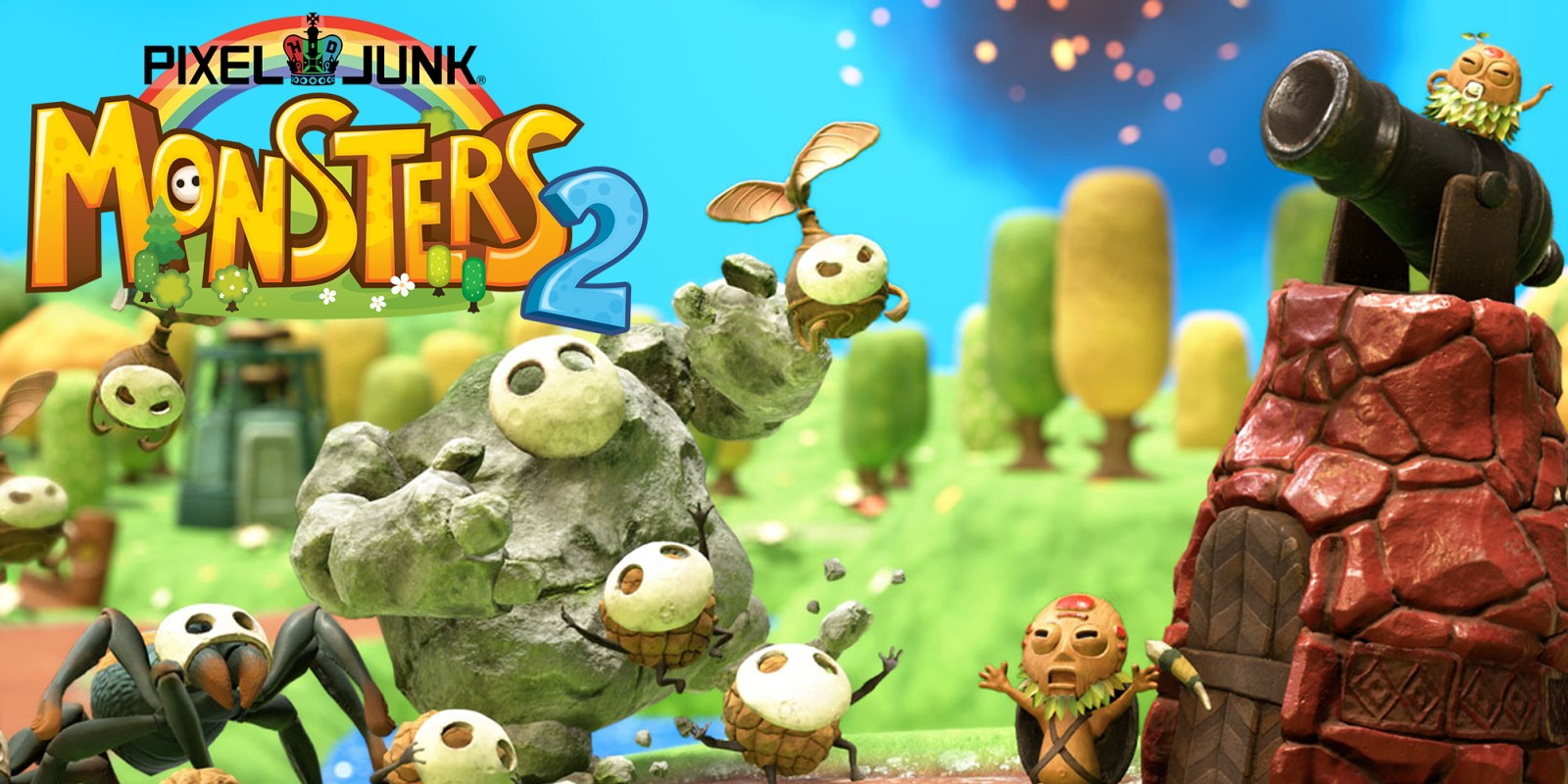 Nintendo Switch Wohnzimmer Pixeljunk Monsters 2 Nintendo Switch Download Software Spiele