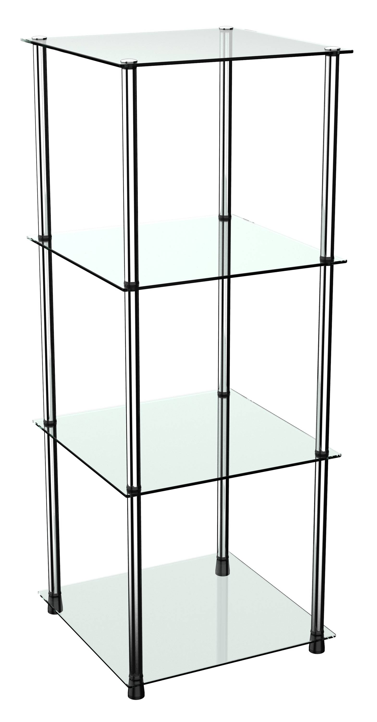 Badregal Mit Glas Standregal Wm503 Mit Glas Ablagen Glasregal
