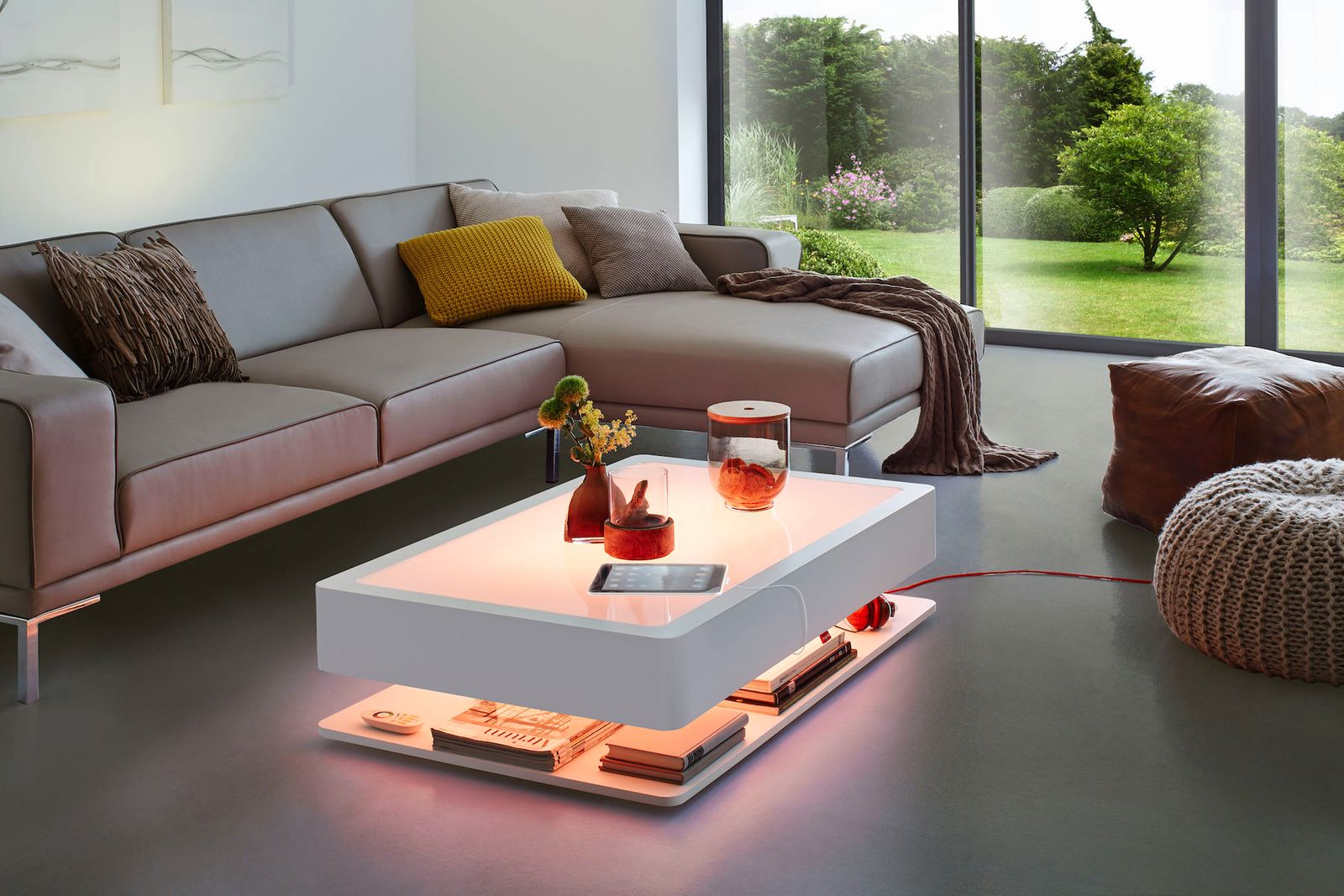 Couchtisch Ora Home Led Pro Dewall Design
