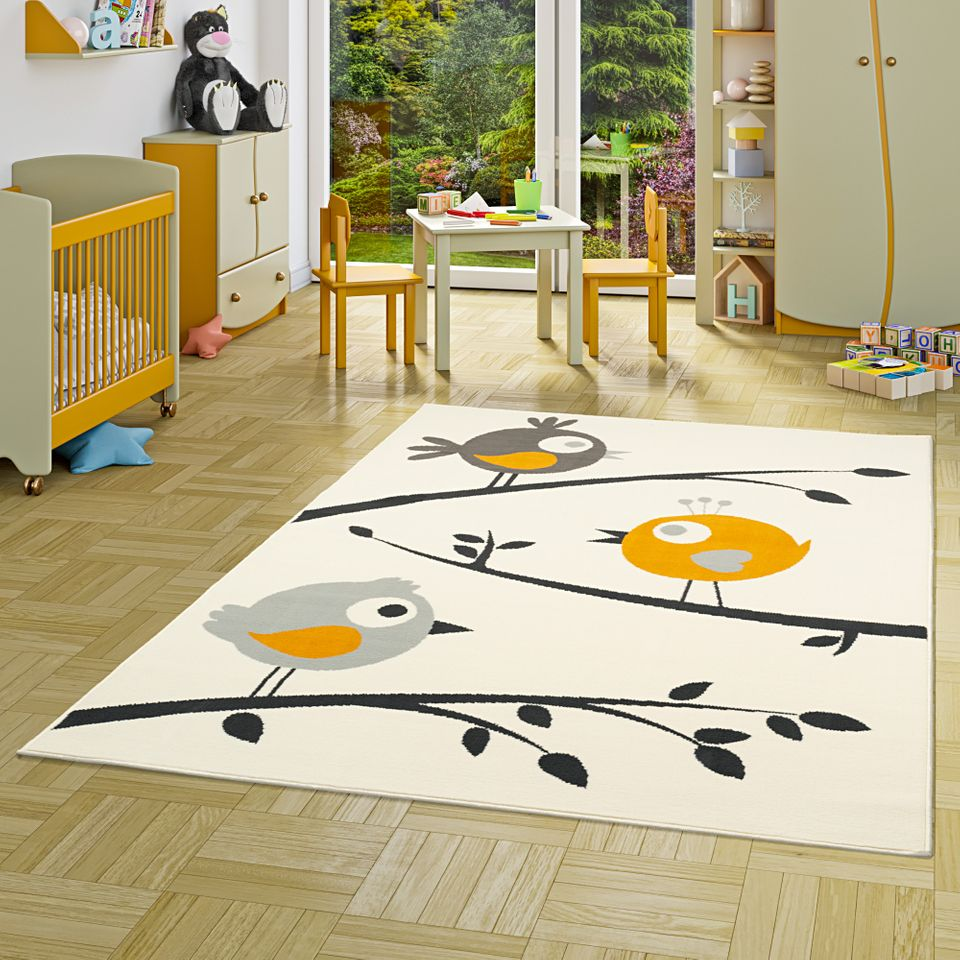 Children S Home Furniture Kinder Teppich Spielteppich Circle Grün 180x200cm Kreise Gelb Home Furniture Diy Quatrok Com Br