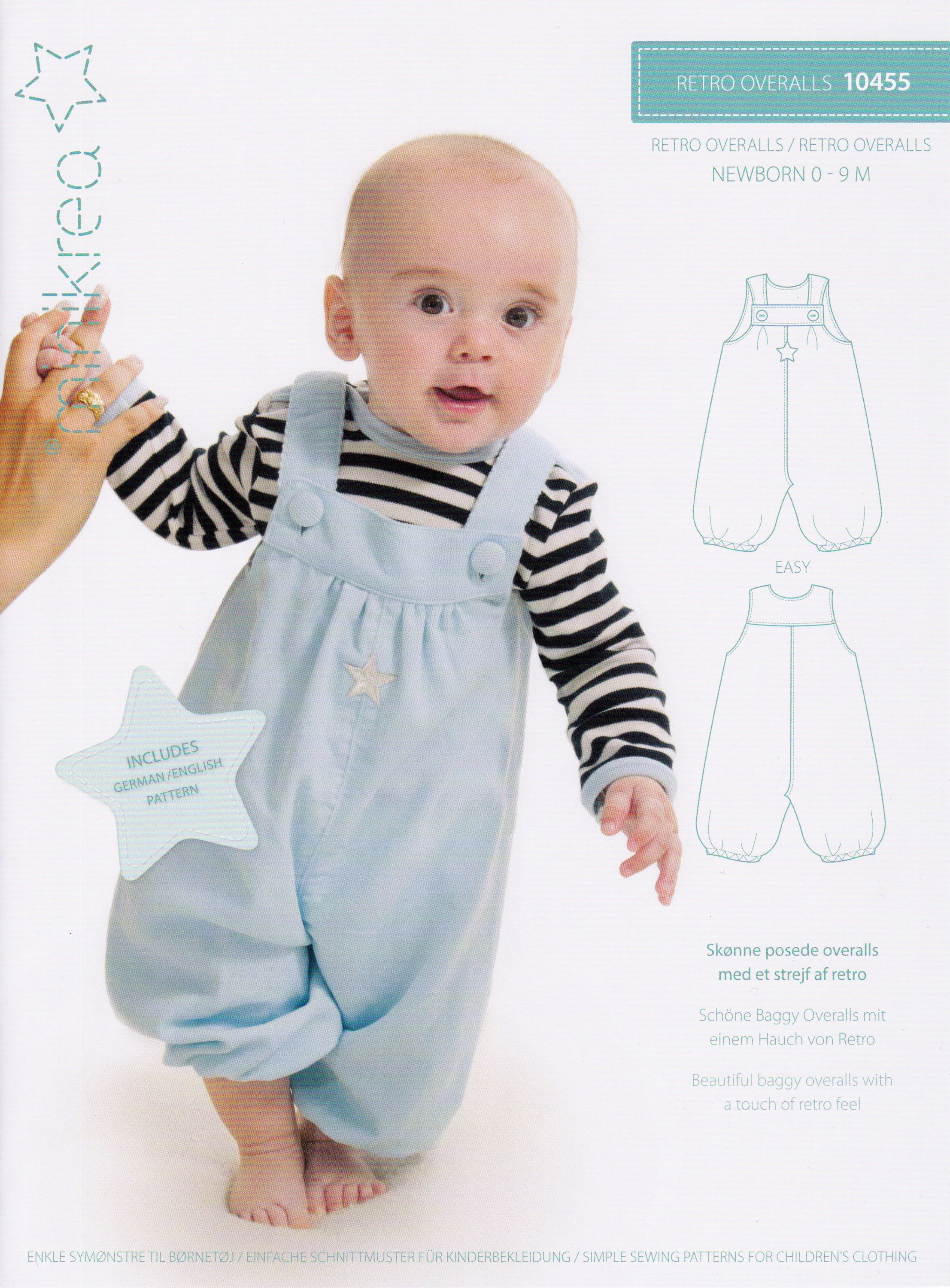 Schnittmuster Kinder Overall Schnittmuster Baby Latzhose Overall
