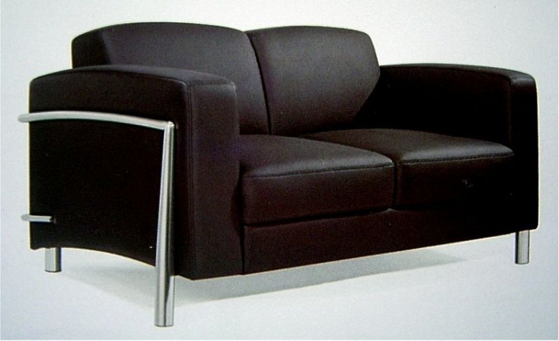 Leder Couch Designer Lounge Office Couch 2er Verona