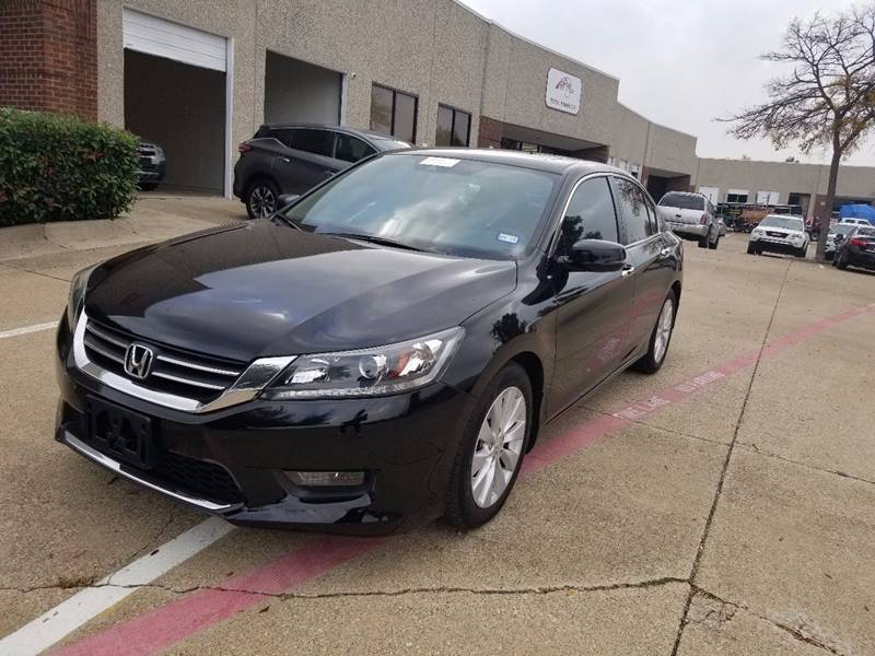 2015 Honda Accord Ex L W Navi In Plano Tx Safon Autos