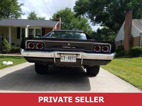 Used 1968 Dodge Charger For Sale - Carsforsale®