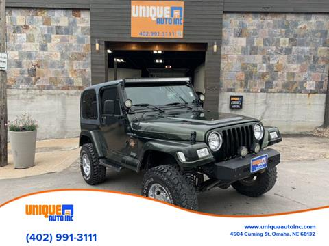 Used 1998 Jeep Wrangler For Sale - Carsforsale®