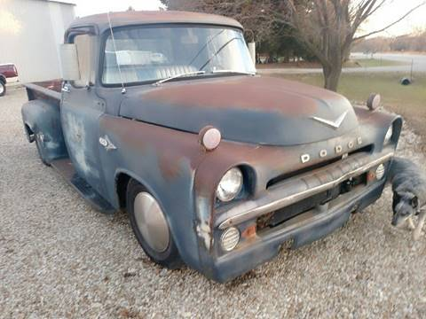 1957 Dodge D100 Truck Index listing of wiring diagrams