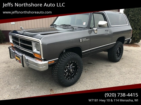 Dodge Ramcharger For Sale in Menasha, WI - Jeffs Northshore Auto LLC
