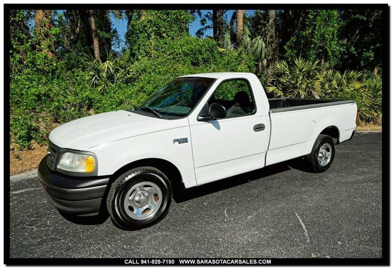 2002 Ford F-150 2dr Standard Cab XL 2WD Styleside LB In Sarasota FL