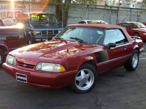 Used 1989 Ford Mustang For Sale - Carsforsale®