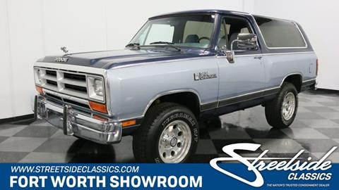 Used Dodge Ramcharger For Sale - Carsforsale®
