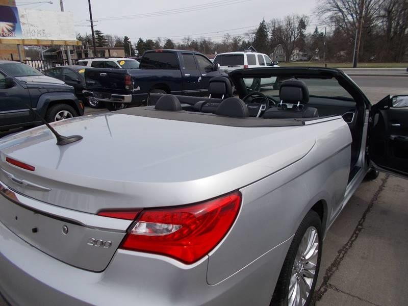 2011 Chrysler 200 Convertible Limited 2dr Convertible In Toledo OH