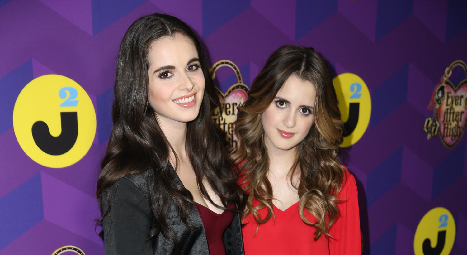 Vanessa laura marano make it to wonderland at just jared s party presented by ever after high