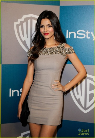 Victoria Justice: InStyle Golden Globes After Party! | Photo 455776 - Photo Gallery | Just Jared Jr.