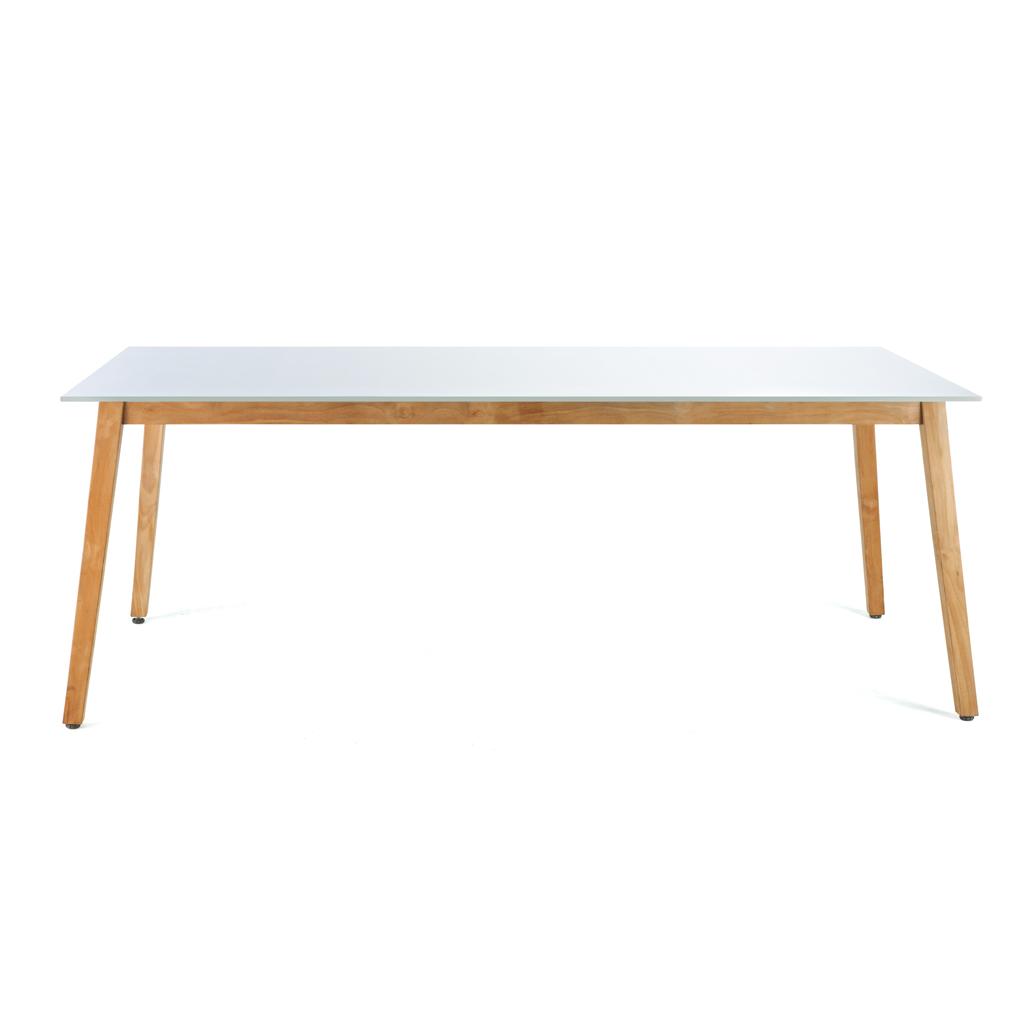 Grande Table Exterieur   Table De Jardin En Palette Plan Table ...