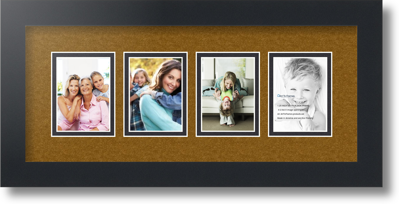 Large Frame Mat 76 Cdr Picture Frame Collage 5 Openings