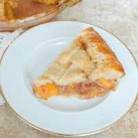 Peach Pie with All Butter Pie Crust