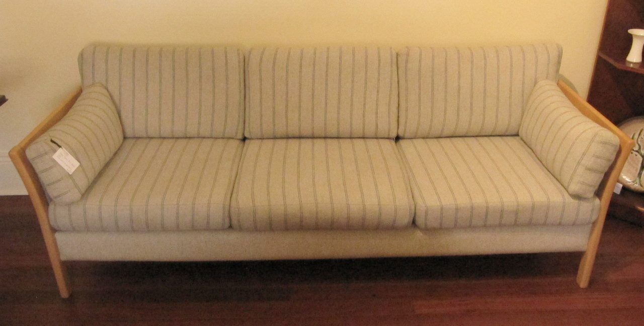 Møbler Sofa Vintage Danish Friis Mobler Beech Wool Sofa Couch