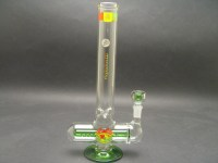 "12"" Illadelph Mini Inline - Rasta   Water Pipes ..."
