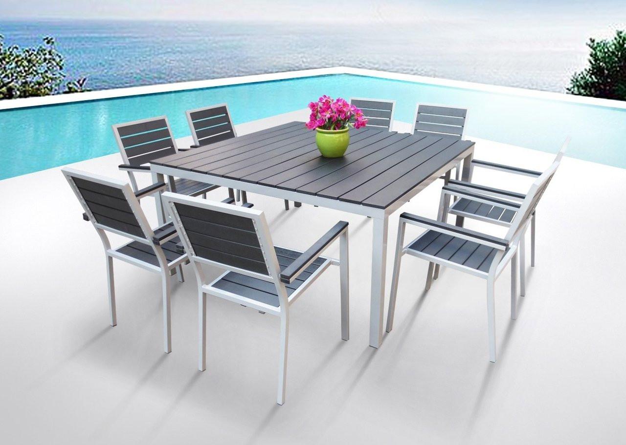 9 Pc Square Dining Table Set I Buy Now I Mangohome
