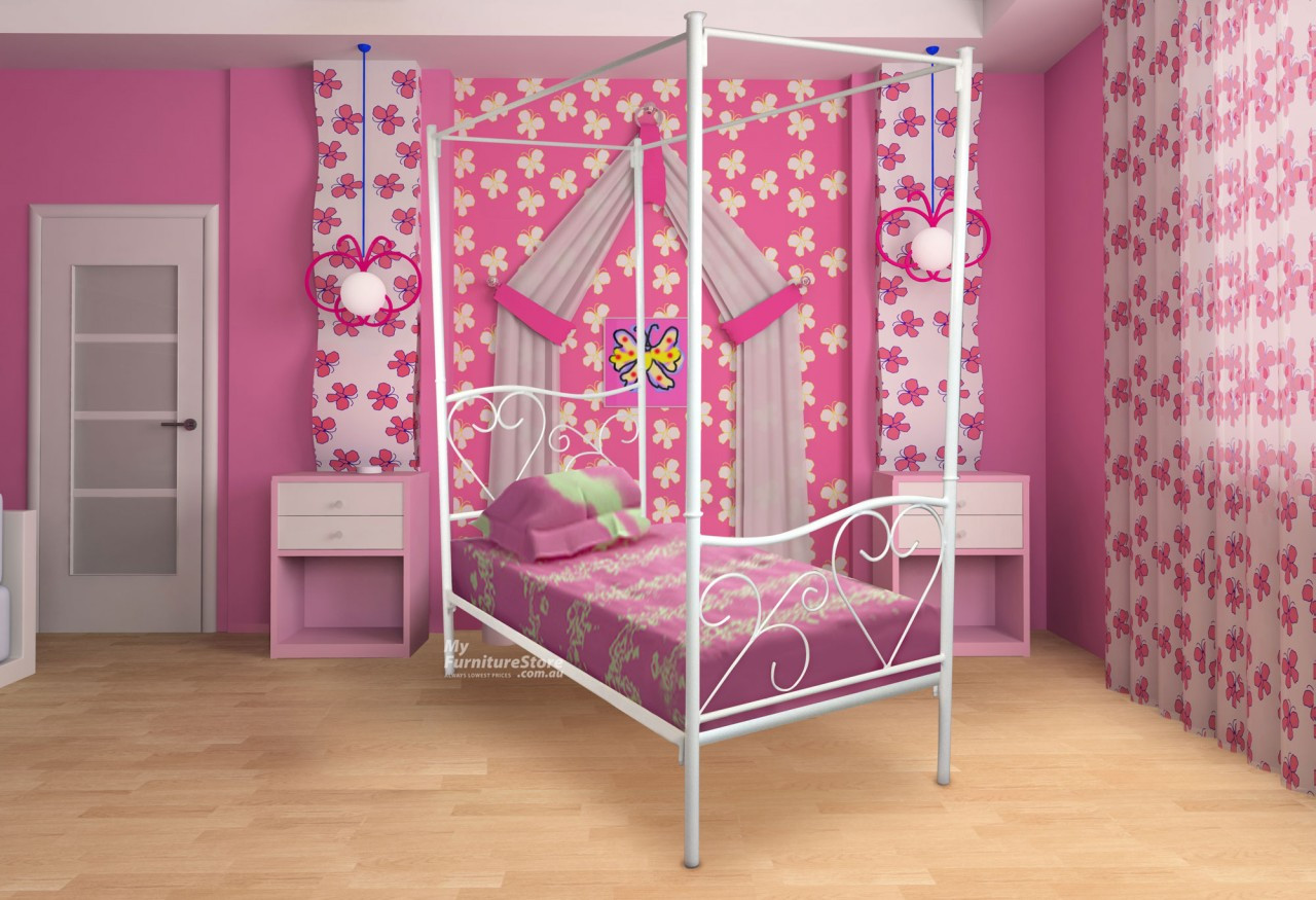 4 Poster Bed Australia King Single Valentine 4 Poster Bed Choice Of Colours