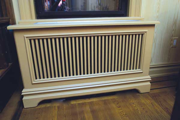 Custom Radiator Cover Tv Console