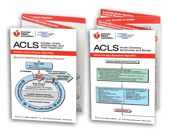 Acls Pocket Reference Cards kicksneakers