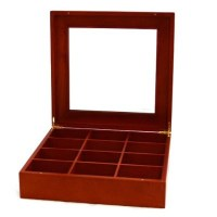 Burlwood Tie Box | Storage & Display Cases | Mens ...