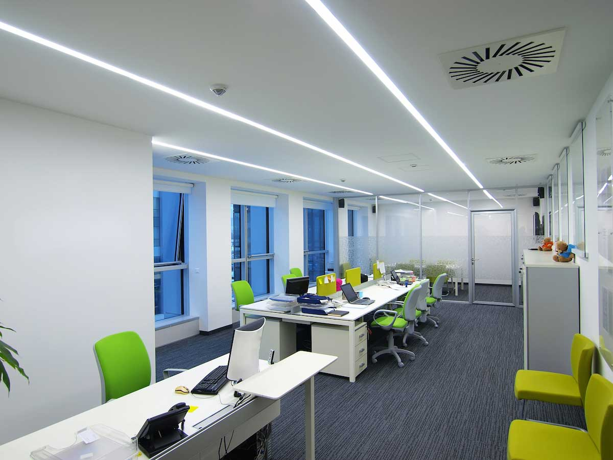 Led Office Lights Commercial Led Strip Lighting Projects From Flexfire Leds