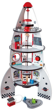Hape Four Stage Rocket Ship On Sale Free Shipping Aus Wide