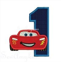 Lightning McQueen Numbers - SewAmykins