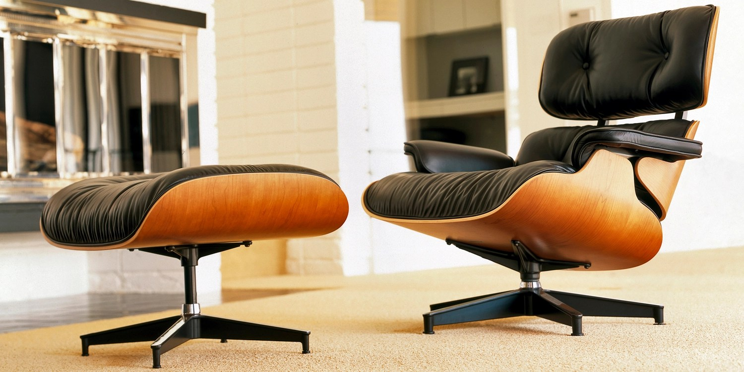 James Eames Lounge Chair A History Of The Eames Lounge Chair & Ottoman - Papillon ...