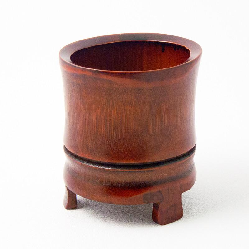 Bamboo Footed Vase Ziji