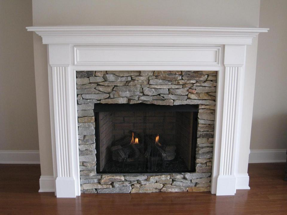 Wood Fireplace Mantels For Fireplaces Surrounds Design The Space