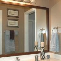 Bathroom Mirror Frames | Bathroom Vanity Mirror Frame ...