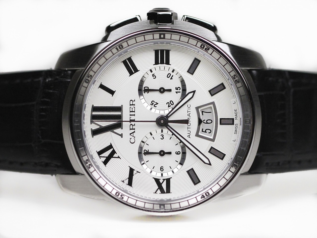 Cartier Watches Cartier Watch Caliber De Cartier Chronograph On A Strap
