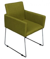 ENNA Reception Chair - Moss Green - Stools & Chairs
