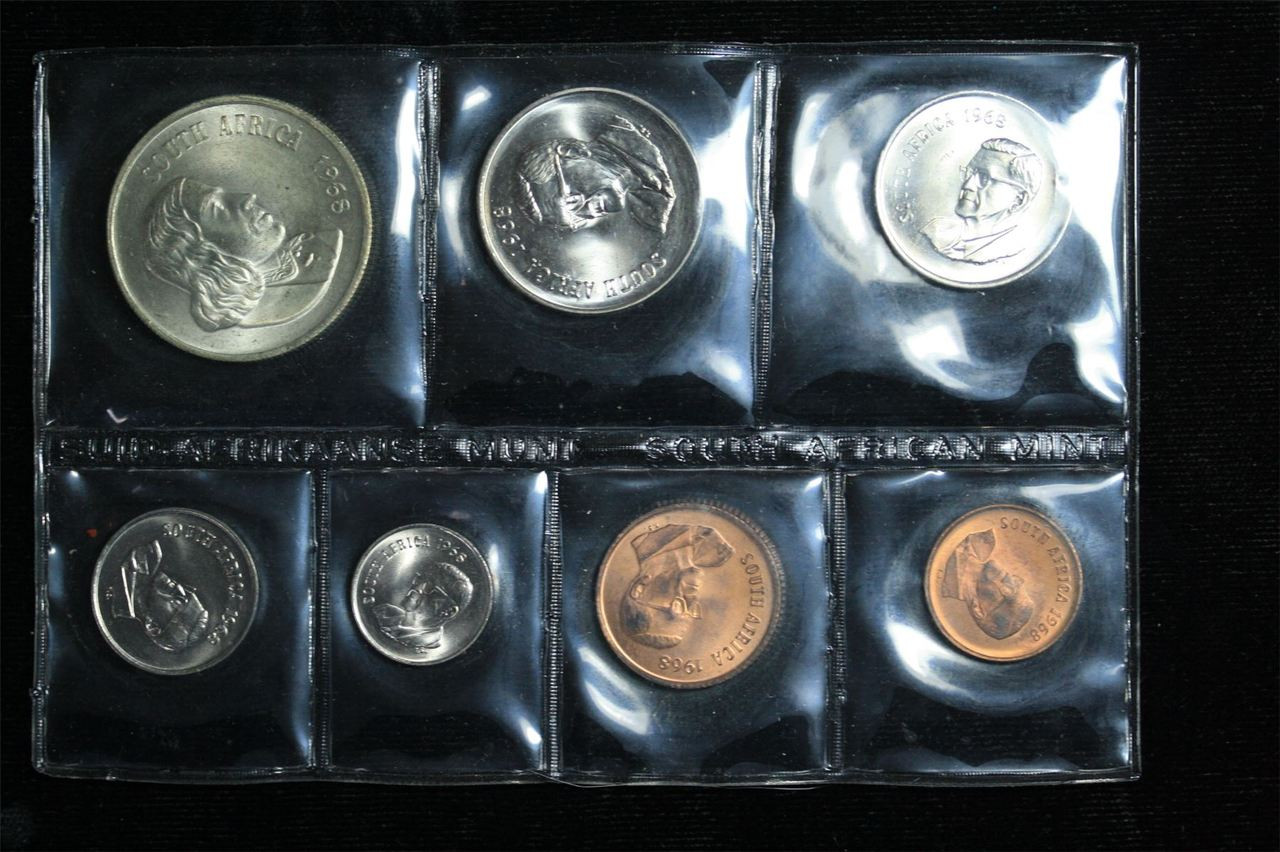 Mint Set 1968 South Africa Mint Set