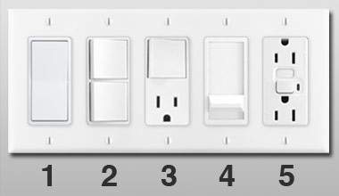 Electrical Outlets Light Switches For Wall Switch Plates