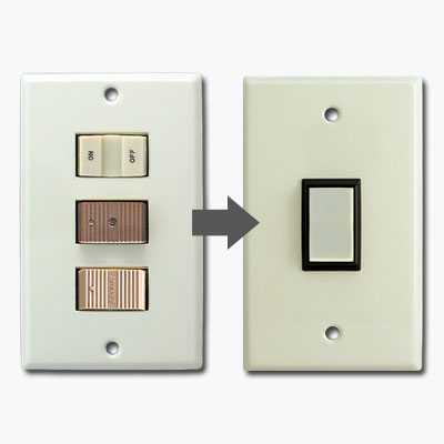 GE New Style Snap In Low Voltage Wall Switch Plates  Switches FAQ