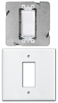 How to Install Centered Light Switch or Outlet on 2-Gang Box