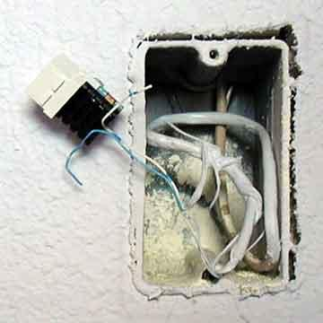 Telephone Jack Installation Instructions  Photo Guide