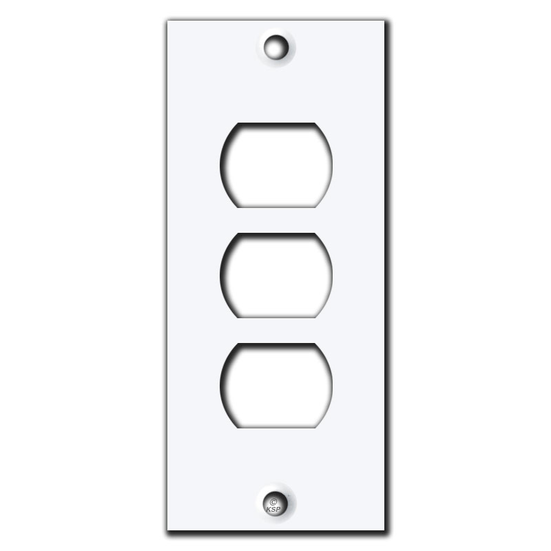 3 gang light switch covers