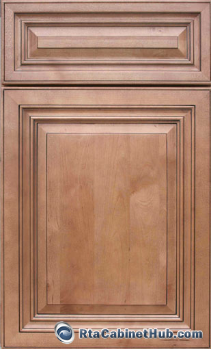 Stain Particle Board Kitchen Cabinets Cinnamon Maple Glaze - Rta Cabinet Hub - Glazed Toffee