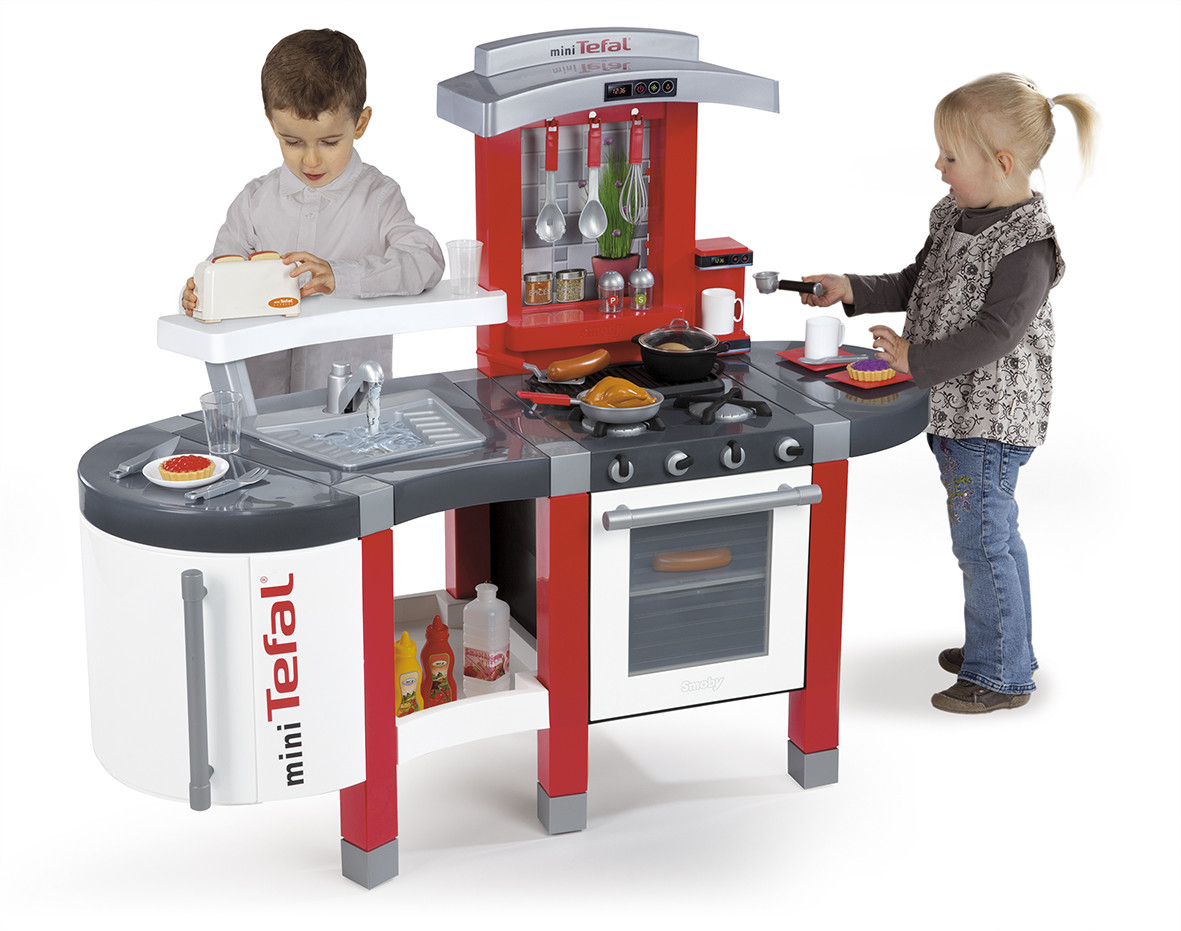 Smoby Tefal Küche Super Chef Excellence Smoby Tefal Super Chef Kids Toy Kitchen Childrens 024213